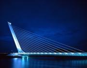 Alamillo Bridge, Sevilla Spain - Santiago Calatrava
