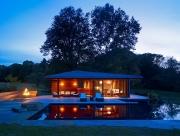 Pool House, Westwood, MA - Charles Rose Architects