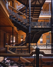 Bradbury Building, Los Angeles, CA - George Wyman Architect