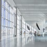 Los Angeles, CA LAX Terminal 1.5 Concourse,  Hensel Phelps, PGAL