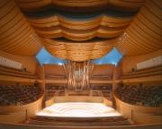 Walt Disney Concert Hall, interior, Los Angeles, CA - Frank Gehry