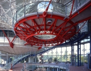European Court of Human Rights, lobby - Strasbourg, France - Richard Rogers