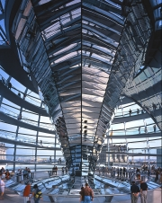 Reichstag Dome New German Parliament, Berlin, Germany - Foster + Partners