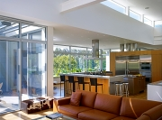 Sharpe Residence, open kitchen, Somis, CA - SPF:a