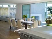 Westridge Residence, open plan, dining, Bel Air, CA - Montalba Architects