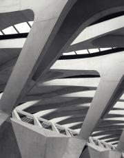 Lyon Saint-Expuery TGV Station, Lyon France - Calatrava