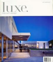 LUXE Interiors + Design - magazine cover