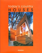 Today's Country HOUSES - book cover
