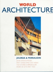 World Architecture - magazine cover